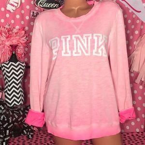 VS Pink Crew Sweatshirt 🌴